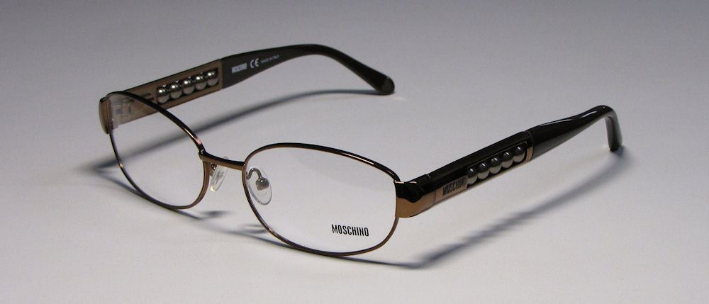 MOSCHINO 06603 SHINYDARKBROWN