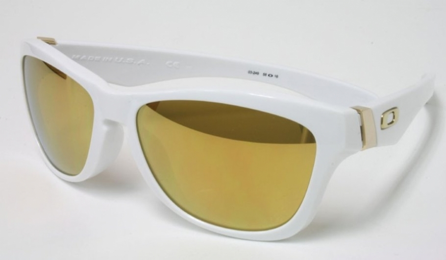 8fda35e7e90 Oakley Jupiter White 24k Iridium