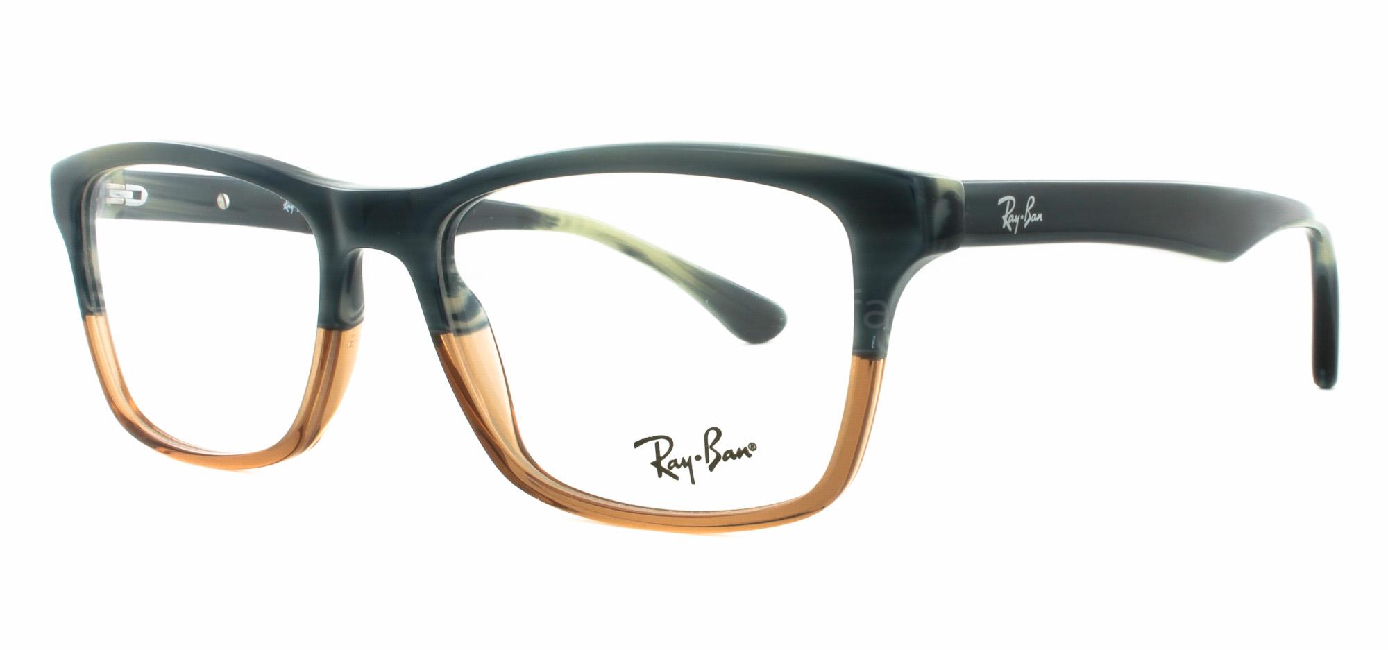 527d340c3b7 Ray Ban 5226 Eyeglasses In Brown « Heritage Malta